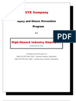 IIP Program for High-Hazard Industry Employers