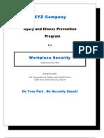 IIP Program for Workplace Security
