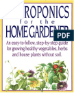 22195786 Hydroponics for the Home Gardener