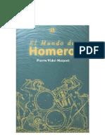 Naquet Pierre - El Mundo de Homero