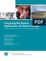 4C Communication Primer - Conveying the Human Implications of Climate Change