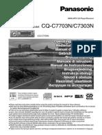 panasonic cq-c7703n 7303n user