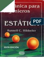 Mecánica para Ingenieros Estática, 6ed [Hibbeler] (mektroniks.blogspot.com)