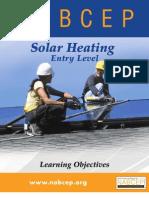 NABCEP SH Installer Learning Objectives 9-9-2011