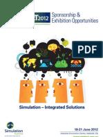 SimTecT Sponsor & Exhibition Brochure