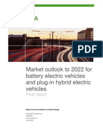 AEA Market Outlook to 2022 for Battery Electric Vehicles and Plug in Hybrid Electric Vehicles 1