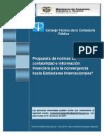 CTCP -  Propuesta IFRS
