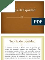 17. Teoría de Equidad