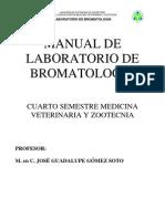 MANUAL DE LABORATORIO DE BROMATOLOGÍA
