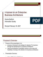 Business Architecture- Why and How