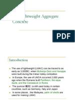 Lightweight Aggregate Concrete