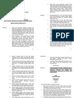 Permen Pera No. 33 Th 2006 Ttg Pedoman & Tatacara Kelembagaan Kasiba