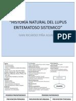 Historia Natural Del Lupus Eritematoso Sistemico