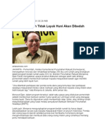 Kliping Berita Perumahan Rakyat  Online 31 Januari 2012