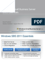 David Faulkner - Small Business Server 2011