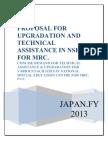 Proposal Regarding Up Technical Assistance