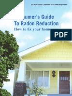 Consumer Guide to Radon