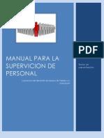Manual Para La Supervicion de Personal