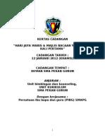 Contoh Kertas Kerja Hari Jaya Waris & Majlis Bacaan Yassin 2012