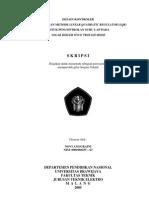 Skripsi Desin Kontroler Menggunakan Metode Linear Quadratic Regulator (Lqr)