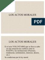 Los Actos Morales