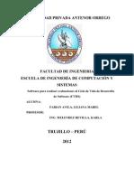 Software Para Realizar Evaluaciones Al Ciclo de Vida de Desarrollo de Software