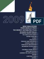 Angelus Press Catalog 2009
