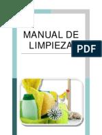 Manual de Limpieza