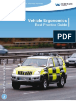 Vehicle Ergonomics and Best Practice Guide
