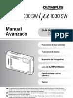 Olympus Stylus 1030 SW Manual Avanzado