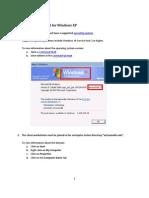 SCCM Client Checklist WinXP