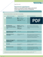 KYN Doctor Checkup Checklist