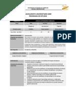 Programa de Lengua Extranjera II (Inglés)