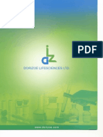 Dorizoe Life Sciences Ltd - Company Brochure