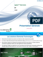 B Stream Elemental Overview 2012