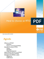 How to Choose an RTOS