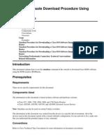 Xmodem Console Download Procedure Using ROMmon