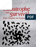 Stewart Catastrophe and Survival Walter Benjamin and Psychoanalysis