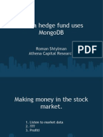 How a Hedge Fund Uses MongoDB (1)