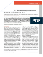 American College of Gastroenterology Guidelines For