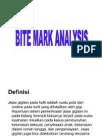 Bite Mark Analysis