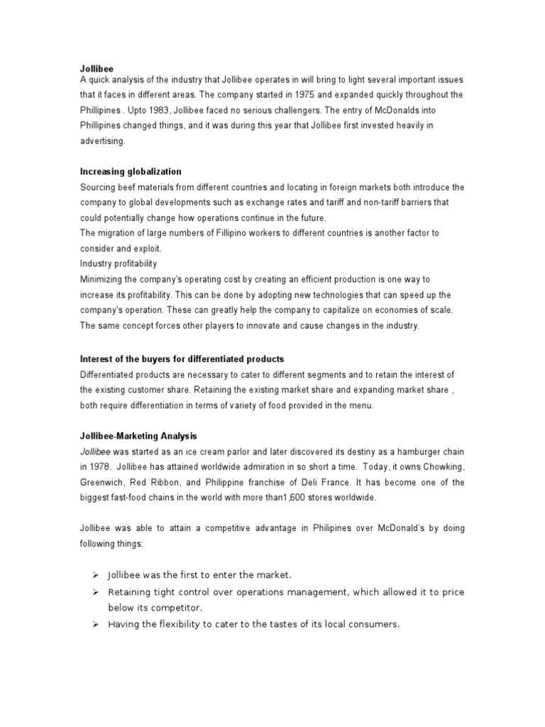 Jollibee fast food restaurants strategic management yadclub Choice Image