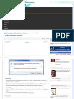 Liste Prgm Windows
