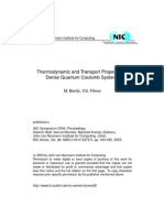 M. Bonitz and V.S. Filinov- Thermodynamic and Transport Properties of Dense Quantum Coulomb Systems