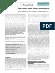 Lipidomics A Mass Spectrometry Based Systems Level Analysis of Cellular Lipids