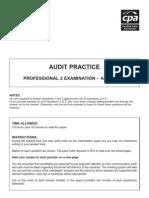 P2 - Audit Practice April 08