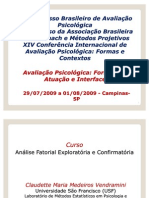 Analise Fatorial SPSS