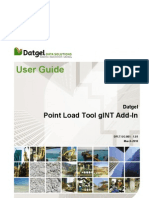 DPLT-UG-001 1.01 Datgel Point Load Tool gINT Add-In User Guide