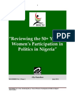 Reviewing the 50 Years of Women Participation in Politics