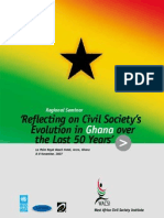 State of Civil Society in Ghana after 50 Years of Independence (Ghana at 50) - 2007